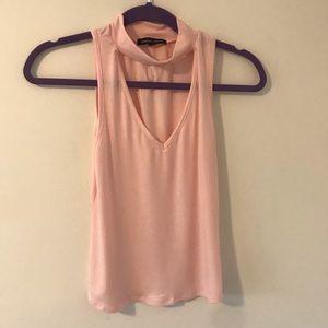 Keyhole light pink PacSun top